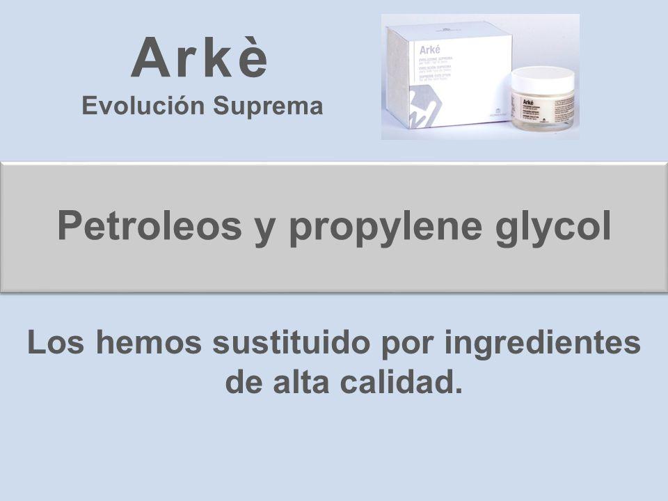 Arkè Petroleos y propylene glycol