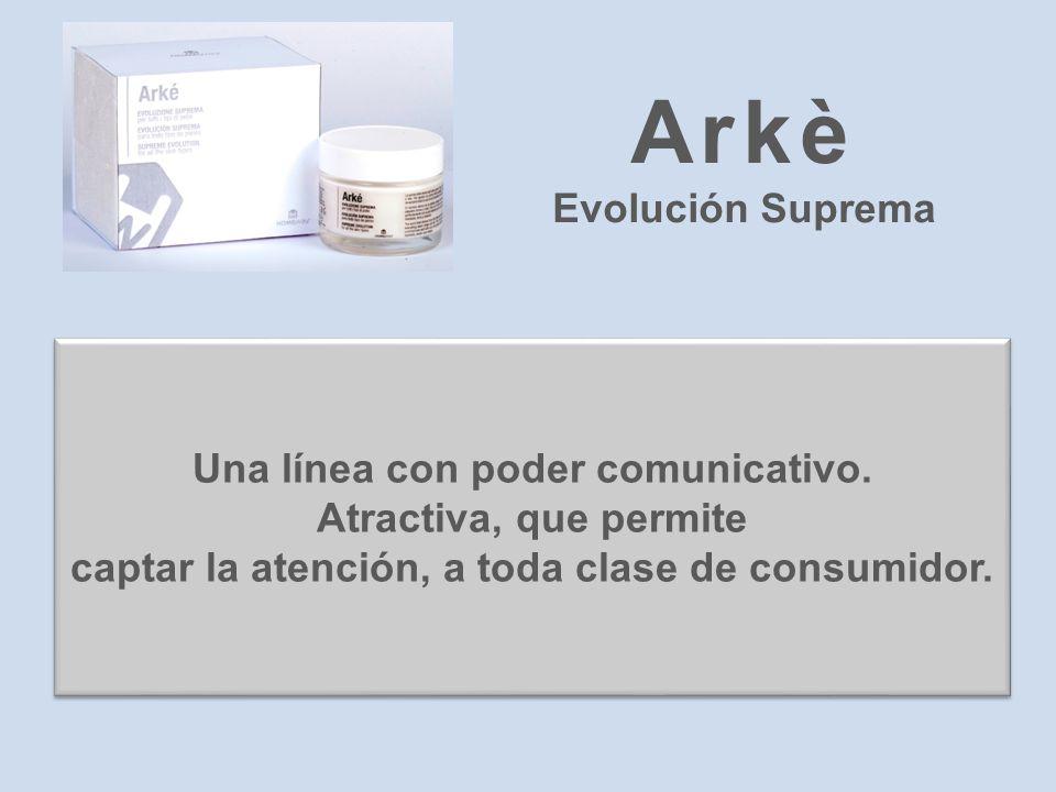 Arkè Evolución Suprema Una línea con poder comunicativo.