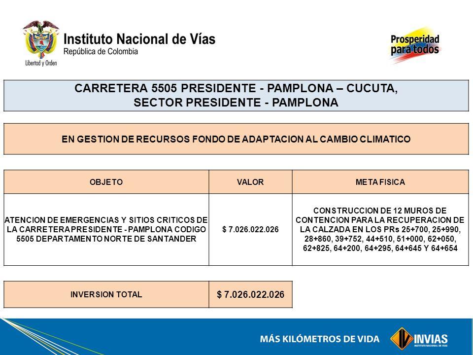 EN GESTION DE RECURSOS FONDO DE ADAPTACION AL CAMBIO CLIMATICO