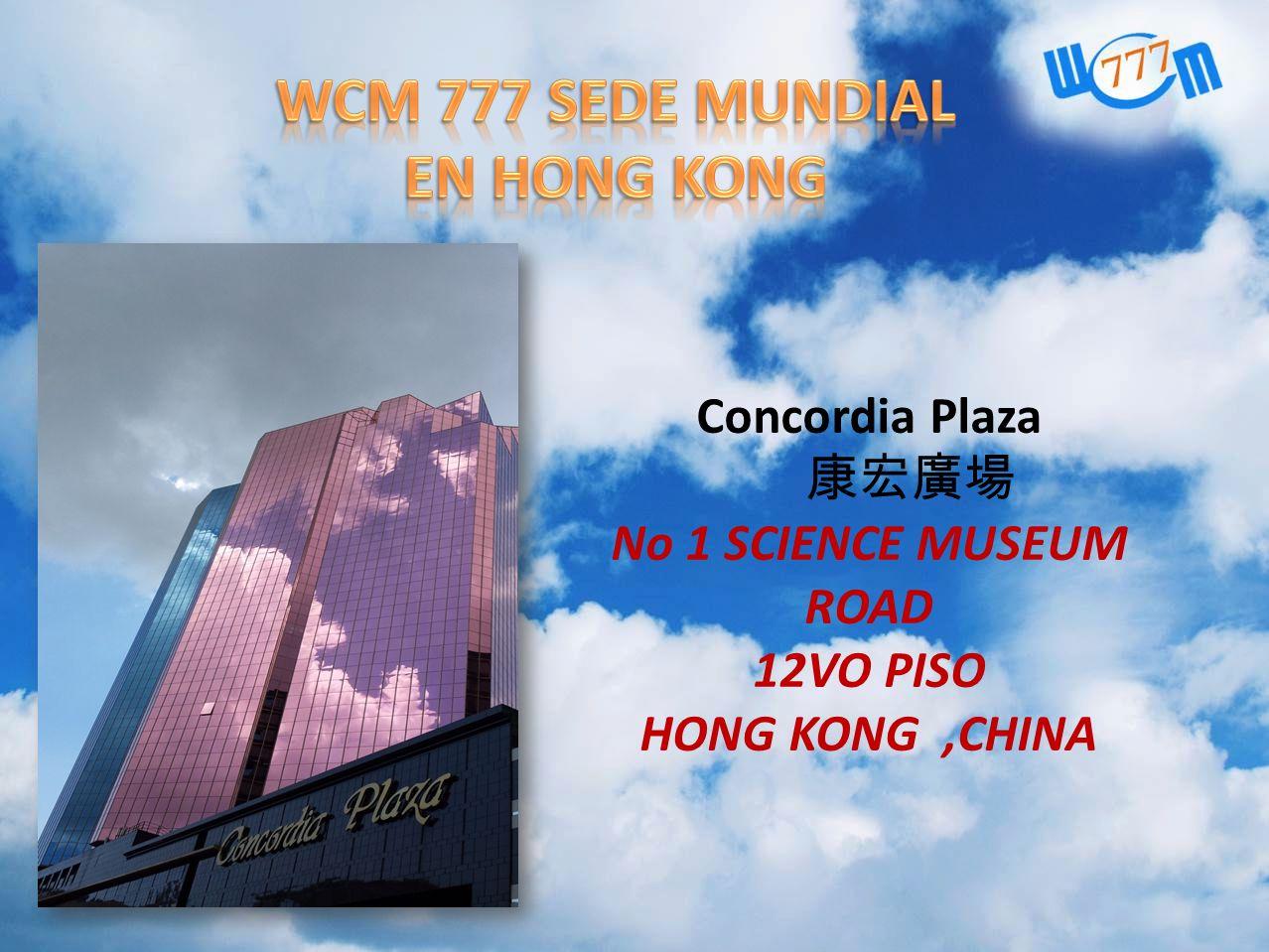 WCM 777 SEDE MUNDIAL EN HONG KONG
