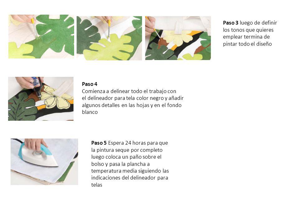 Paso 3 luego de definir los tonos que quieres emplear termina de pintar todo el diseño