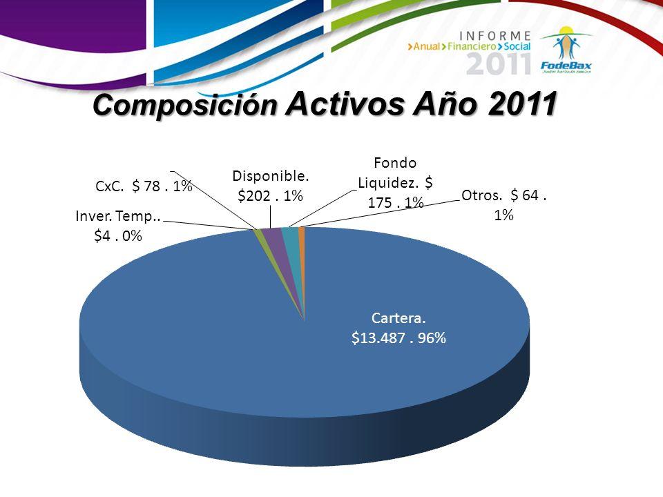 Composición Activos Año 2011