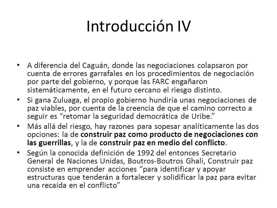 Introducción IV