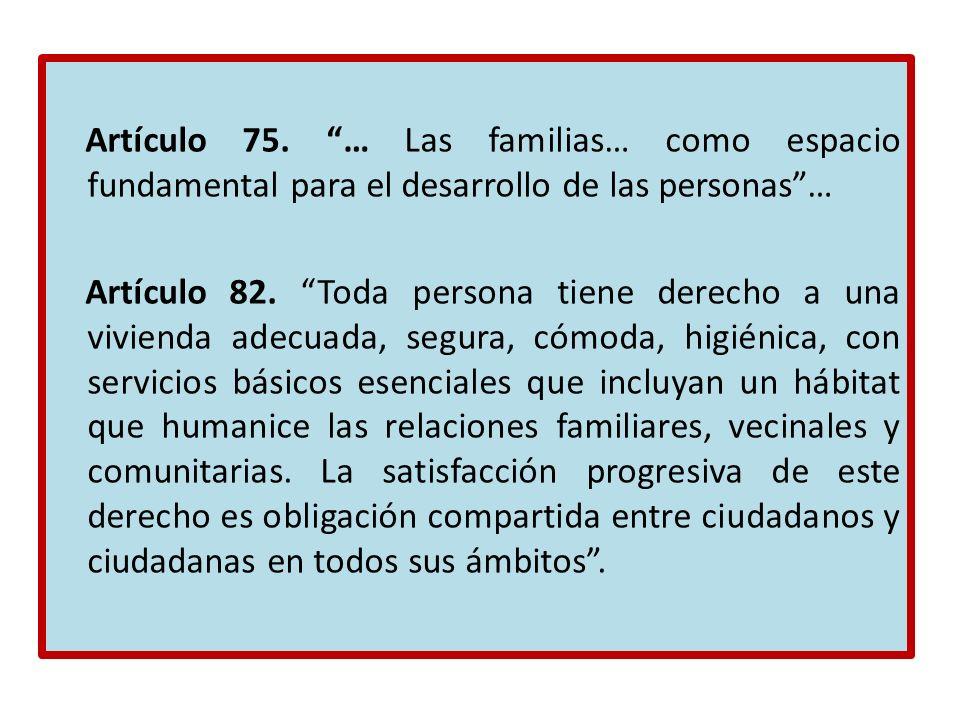 Artículo 75.