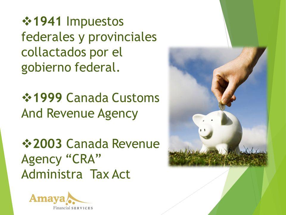 1941 Impuestos federales y provinciales collactados por el gobierno federal.