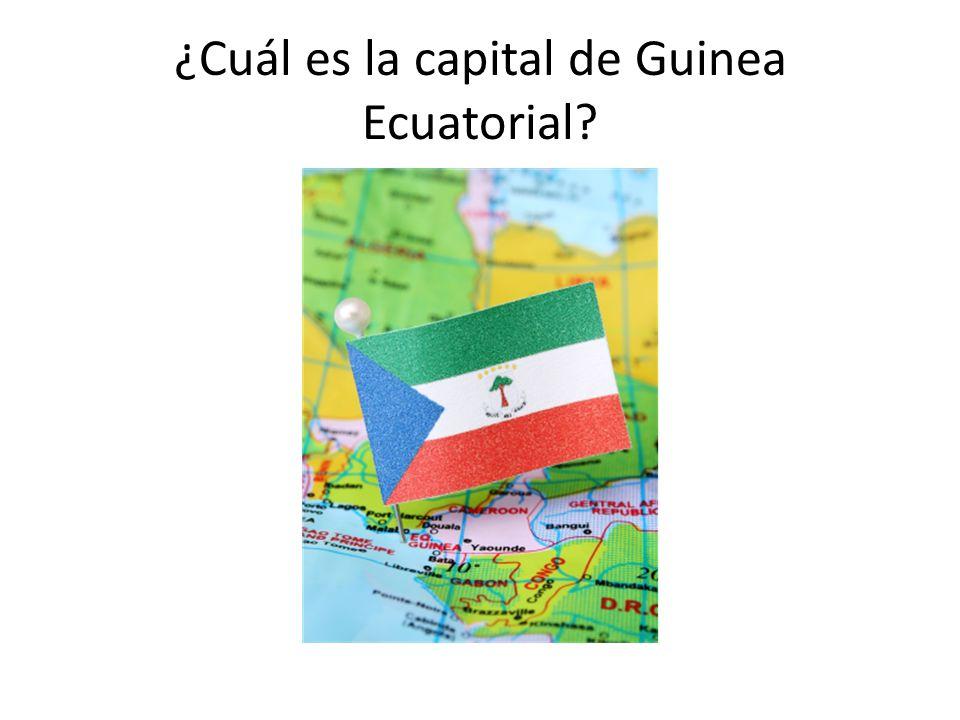 ¿Cuál es la capital de Guinea Ecuatorial