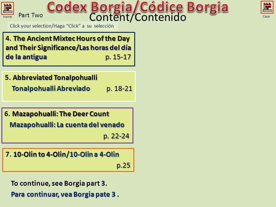 Codex Borgia/Códice Borgia Mazapohualli: La cuenta del venado