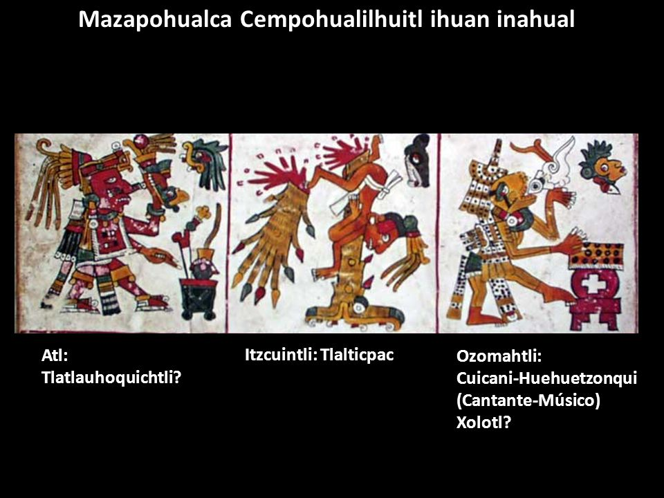Mazapohualca Cempohualilhuitl ihuan inahual