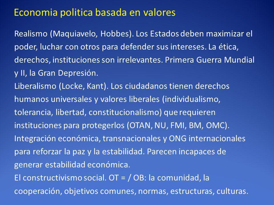 Economia politica basada en valores