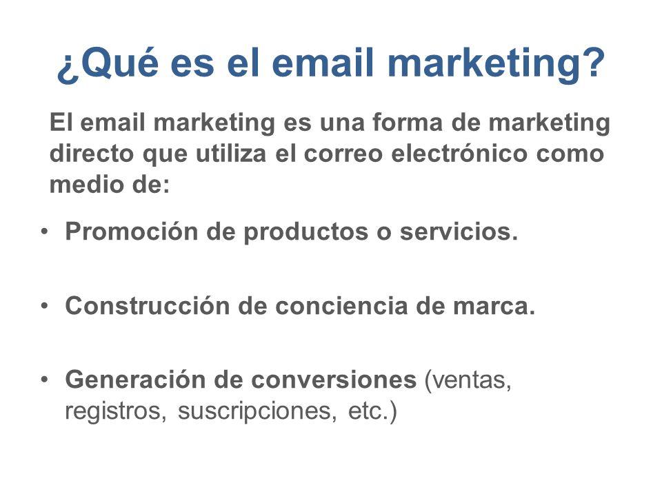 ¿Qué es el email marketing