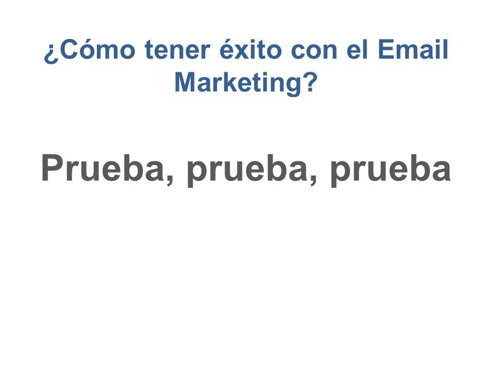 ¿Cómo tener éxito con el Email Marketing