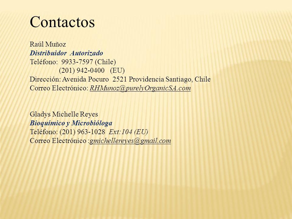 Contactos Raúl Muñoz Distribuidor Autorizado
