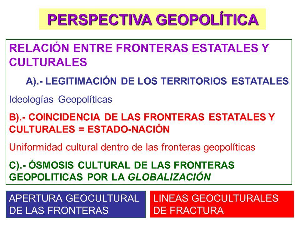 PERSPECTIVA GEOPOLÍTICA