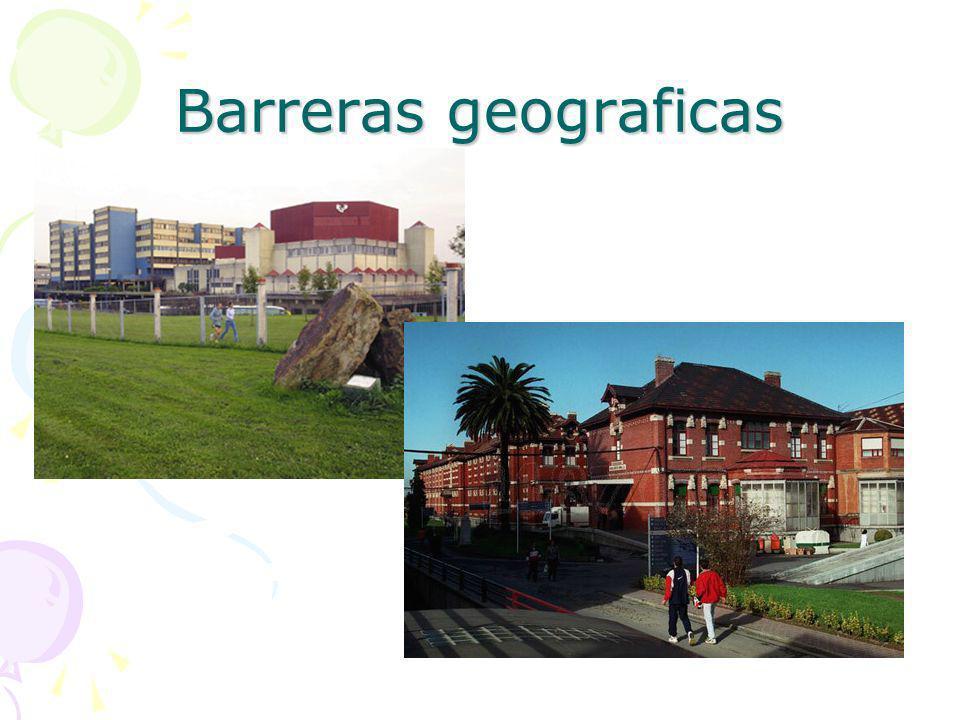 Barreras geograficas