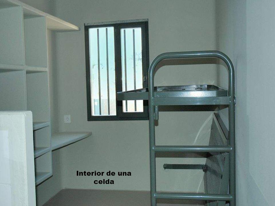 Interior de una celda