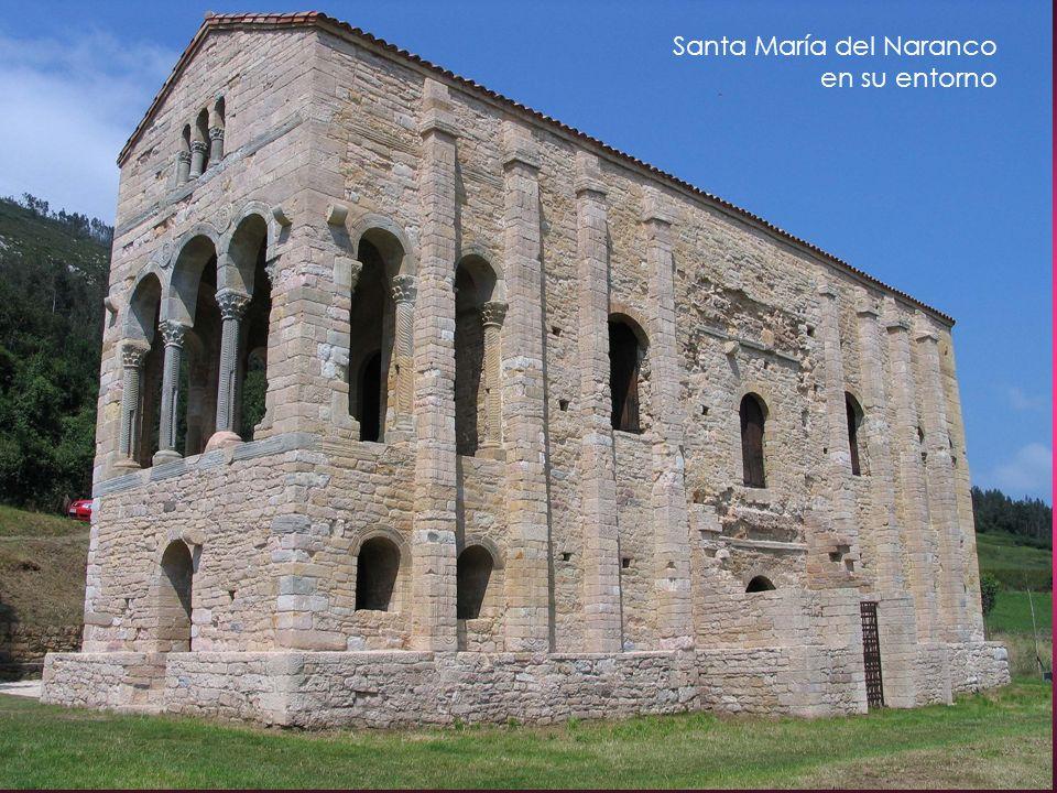 Santa María del Naranco en su entorno