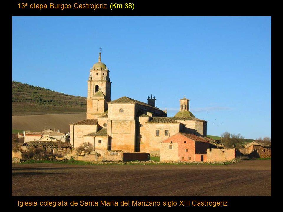 13ª etapa Burgos Castrojeriz (Km 38)