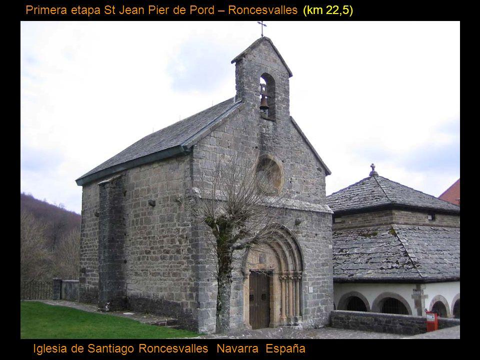 Primera etapa St Jean Pier de Pord – Roncesvalles (km 22,5)