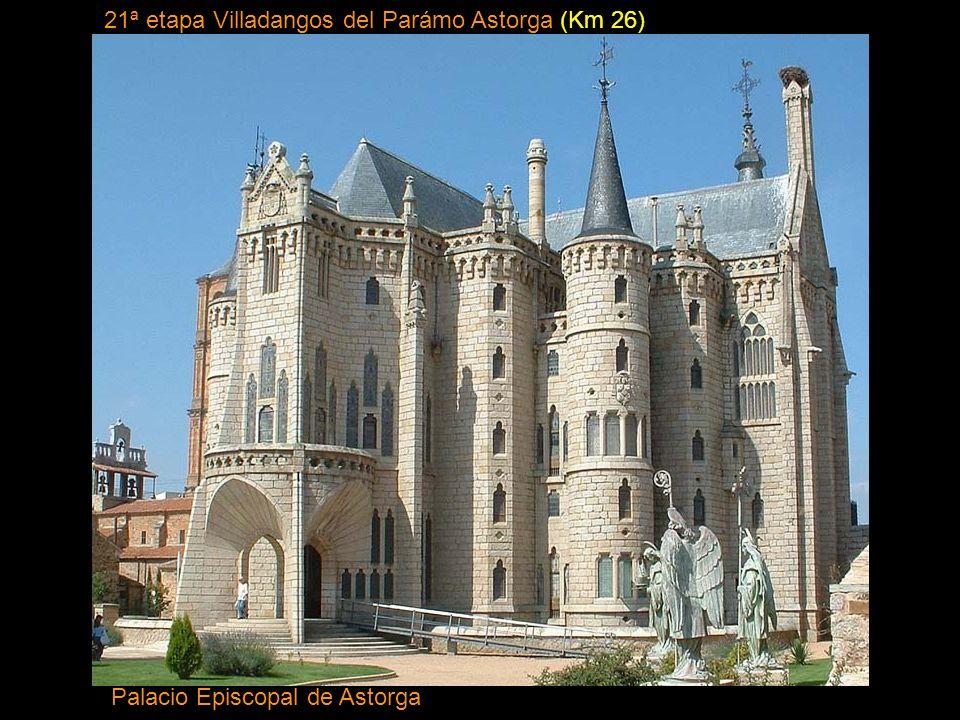 21ª etapa Villadangos del Parámo Astorga (Km 26)