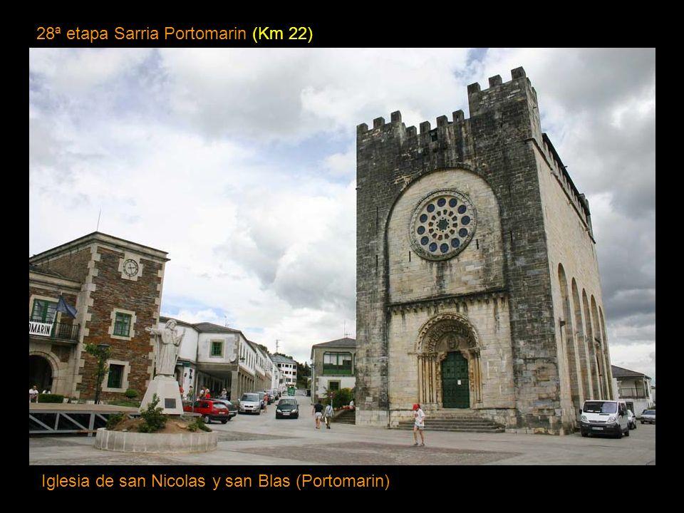 28ª etapa Sarria Portomarin (Km 22)