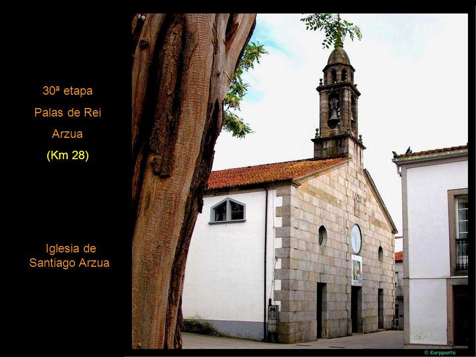 Iglesia de Santiago Arzua