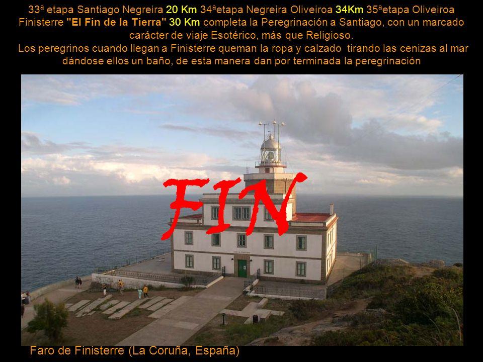 FIN Faro de Finisterre (La Coruña, España)