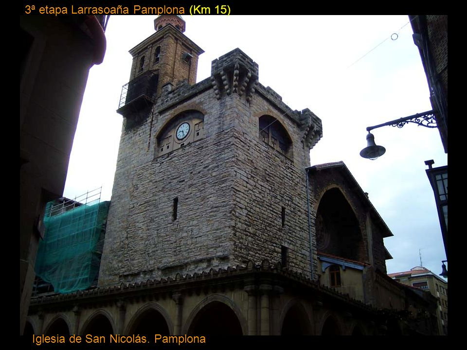 3ª etapa Larrasoaña Pamplona (Km 15)