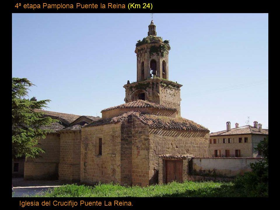 4ª etapa Pamplona Puente la Reina (Km 24)