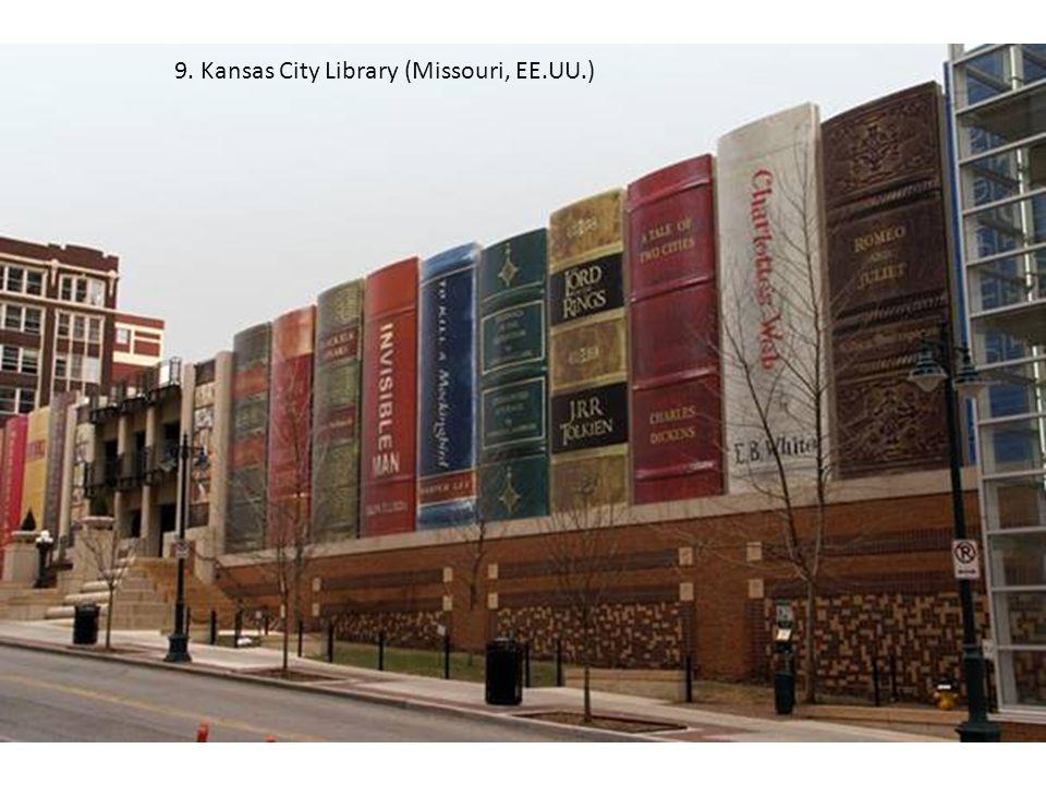 9. Kansas City Library (Missouri, EE.UU.)