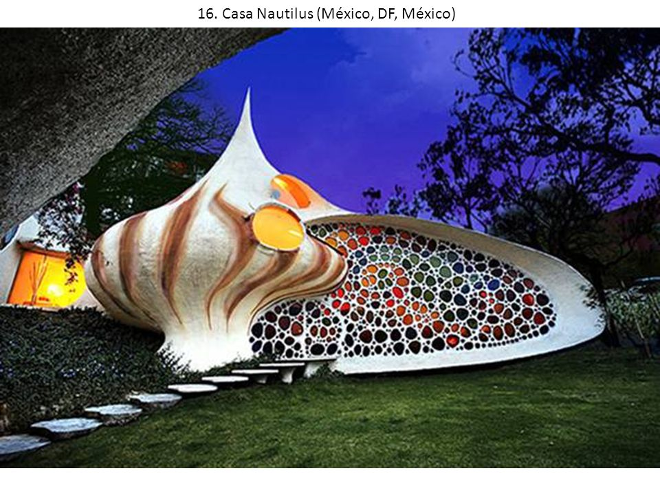 16. Casa Nautilus (México, DF, México)