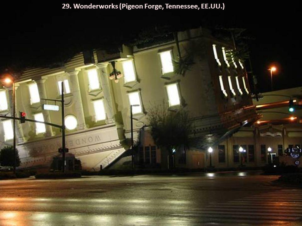 29. Wonderworks (Pigeon Forge, Tennessee, EE.UU.)
