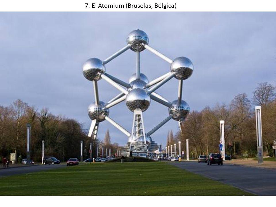 7. El Atomium (Bruselas, Bélgica)