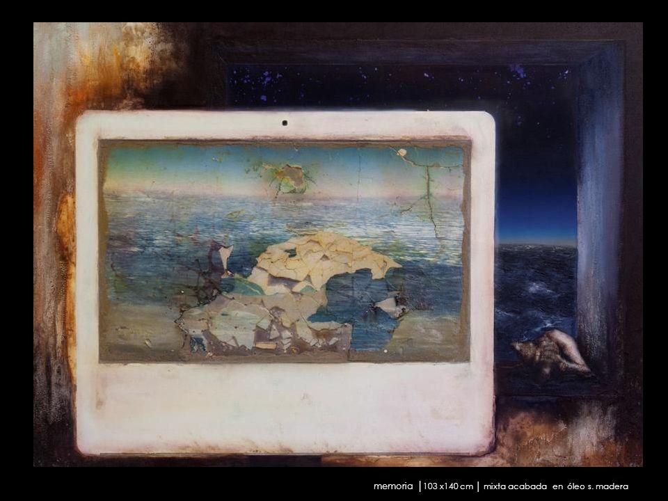 memoria │103 x140 cm │ mixta acabada en óleo s. madera