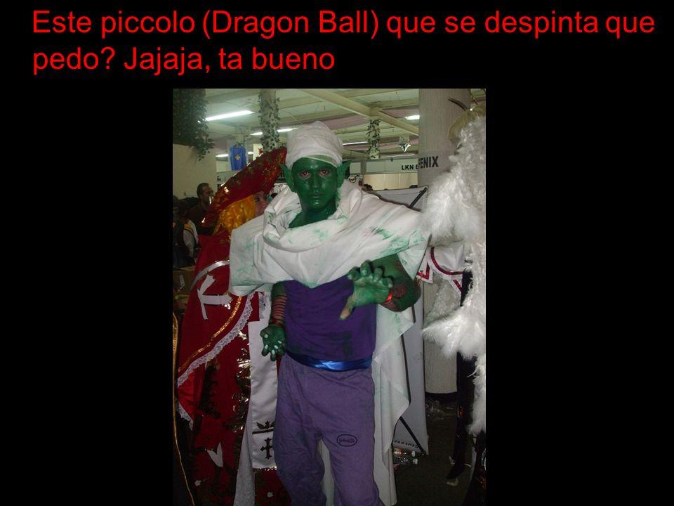 Este piccolo (Dragon Ball) que se despinta que pedo Jajaja, ta bueno