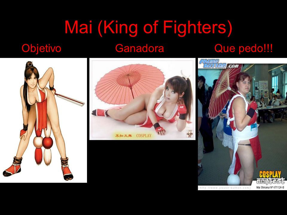 Mai (King of Fighters) Objetivo Ganadora Que pedo!!!