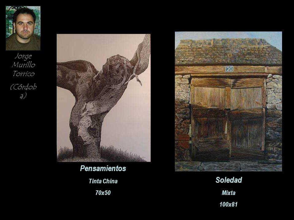 Pensamientos Soledad Jorge Murillo Torrico (Córdoba) Tinta China 70x50