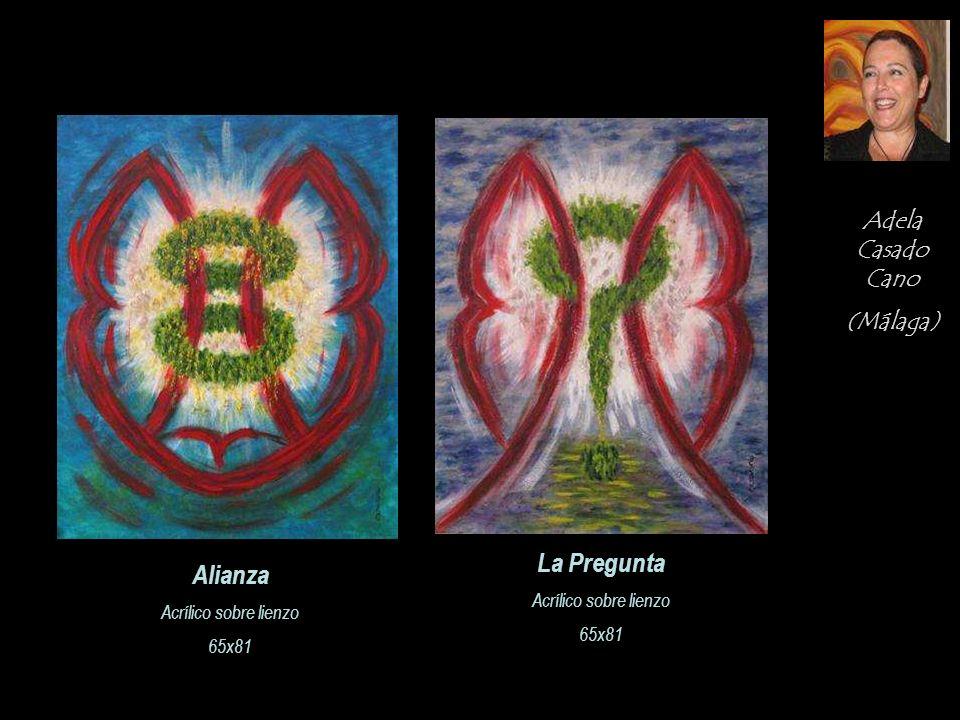 La Pregunta Alianza Adela Casado Cano (Málaga) Acrílico sobre lienzo