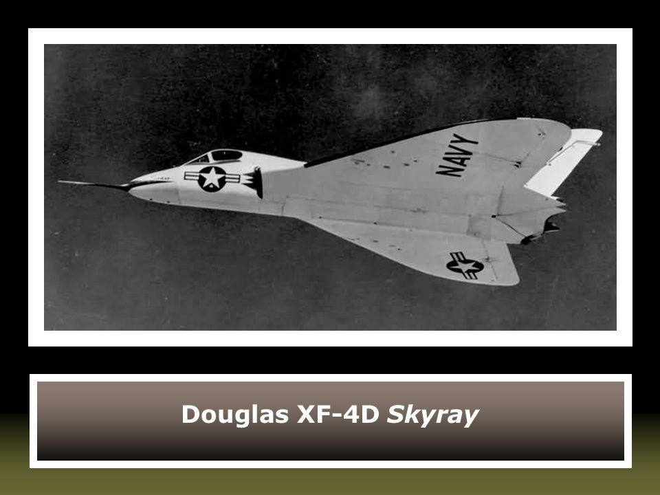 Douglas XF-4D Skyray