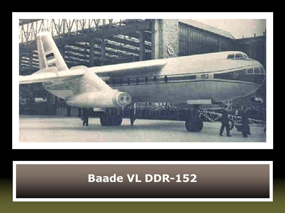 Baade VL DDR-152