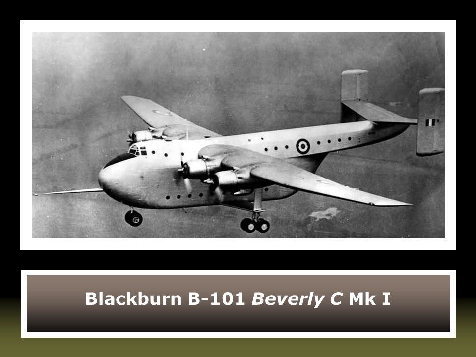 Blackburn B-101 Beverly C Mk I