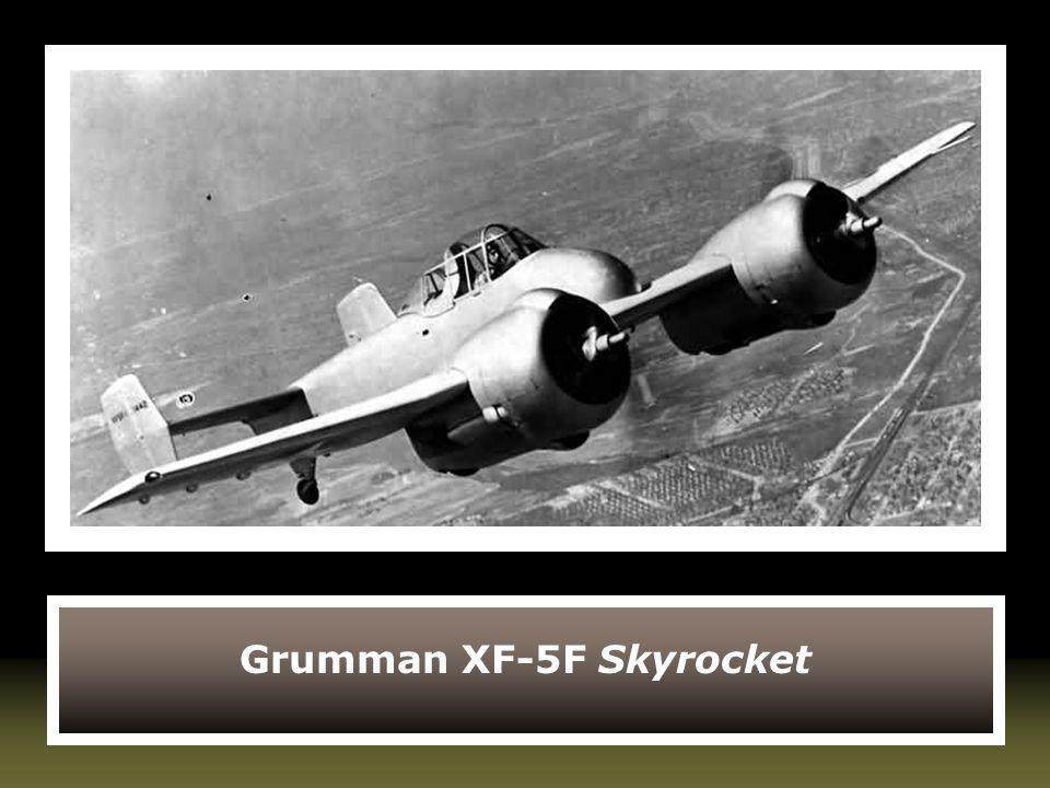 Grumman XF-5F Skyrocket