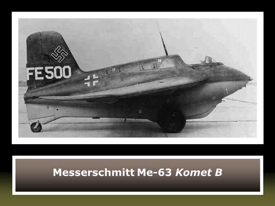 Messerschmitt Me-63 Komet B