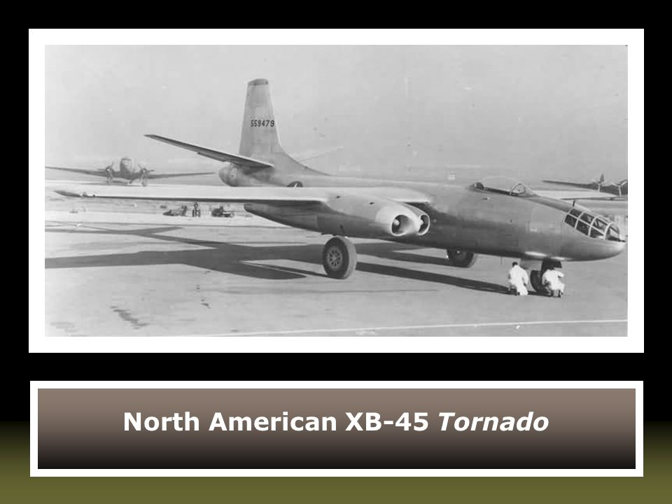 North American XB-45 Tornado