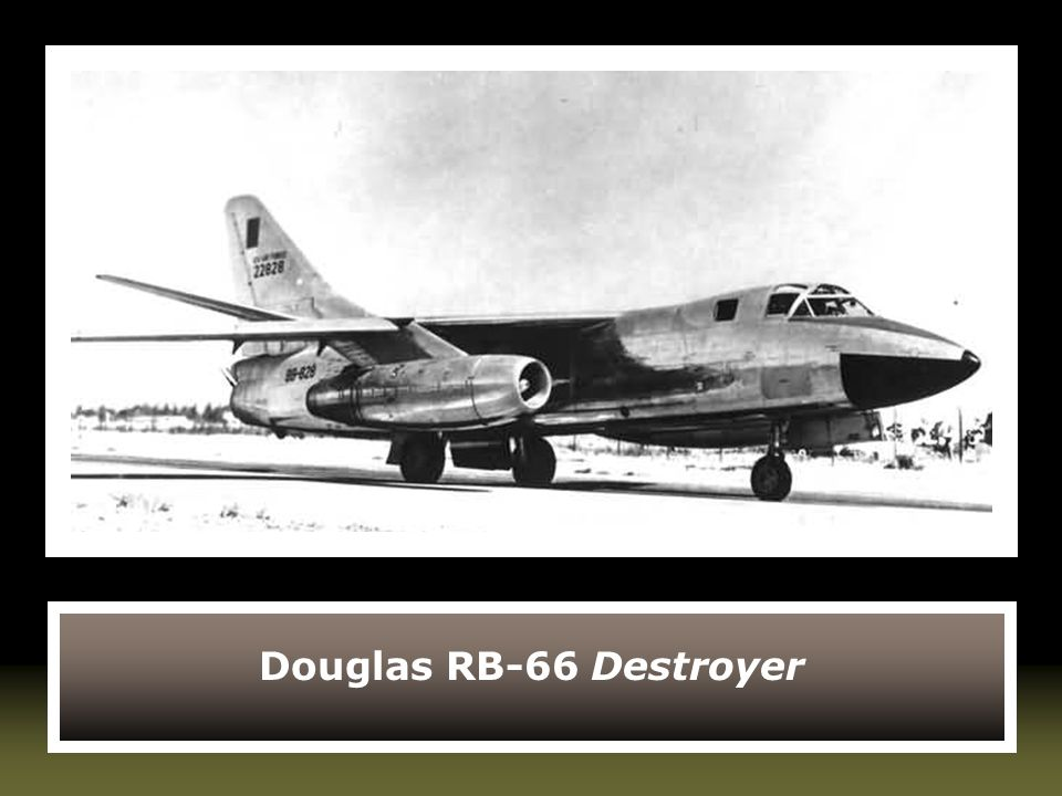 Douglas RB-66 Destroyer