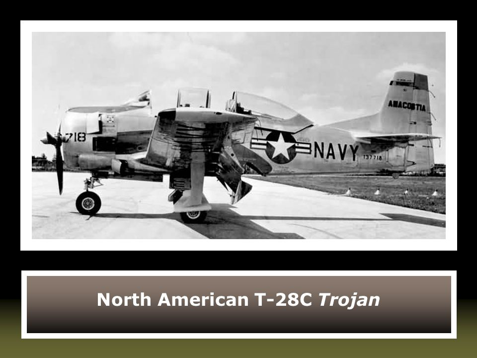 North American T-28C Trojan