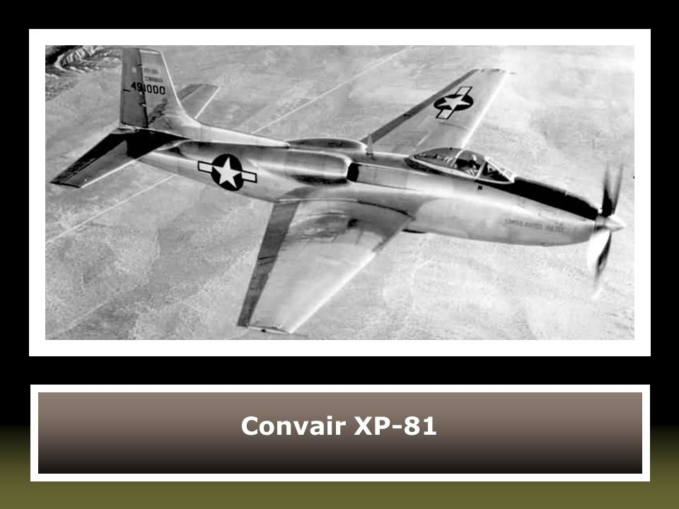 Convair XP-81