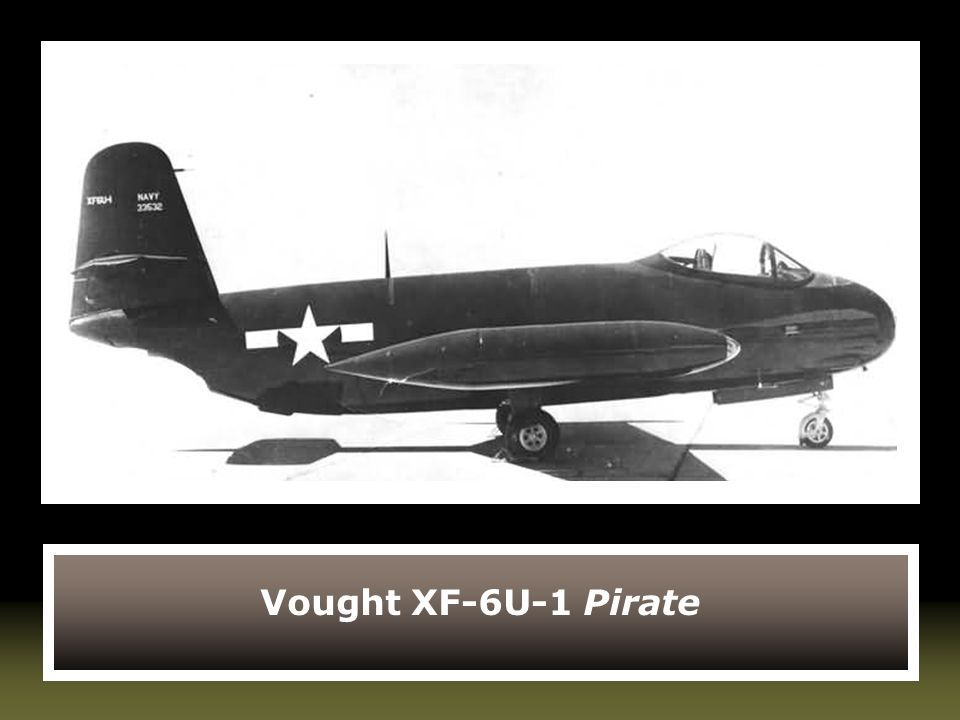 Vought XF-6U-1 Pirate