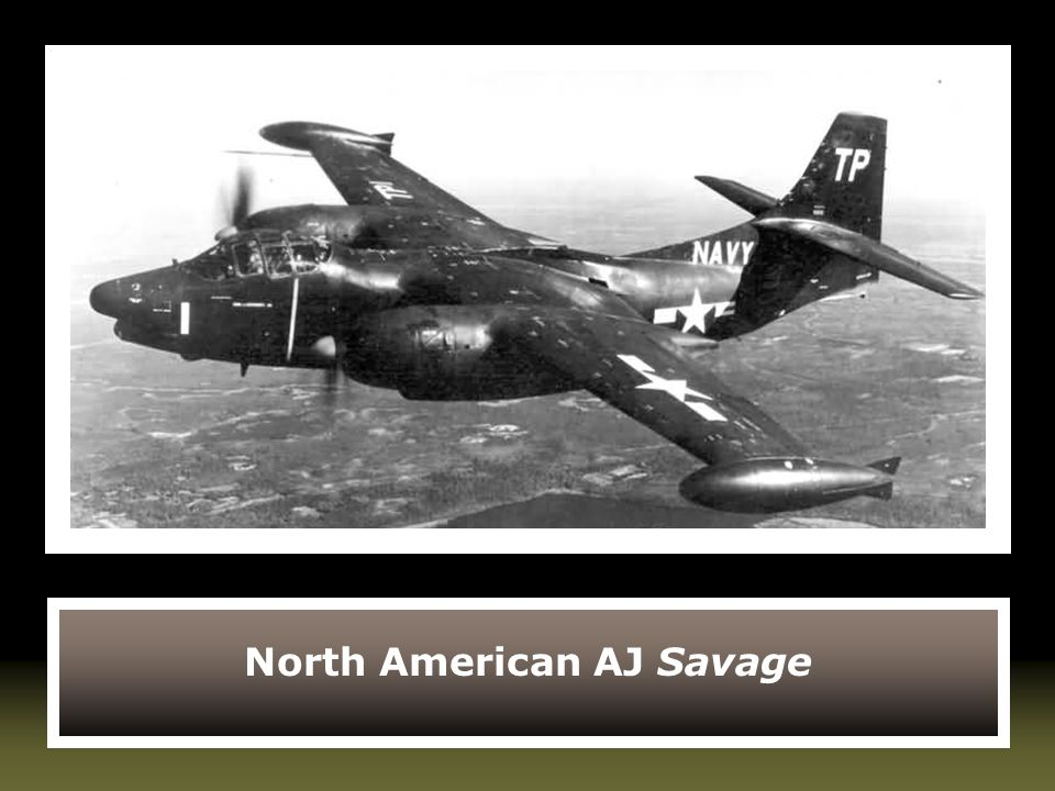 North American AJ Savage