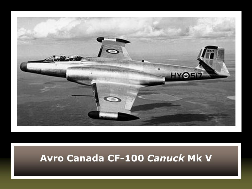 Avro Canada CF-100 Canuck Mk V