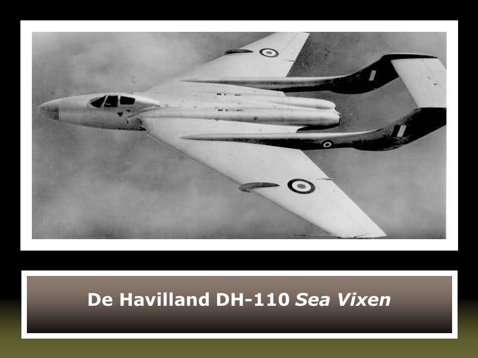 De Havilland DH-110 Sea Vixen